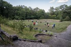 Der alte historische Heckengarten in der Wulheide - heute laedt er zum Verweilen ein und zur Freizeitgestaltung